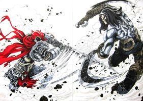 Darksiders War vs Death by Keatopia