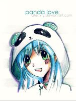 Marina: panda love by aternity