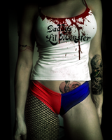 Harley Quinn in Camel toe shorts by TheSupervixens