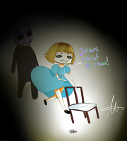 Pewdsuela in ao oni by HellsKawaiiAngel