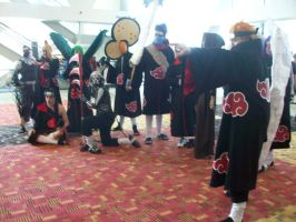 akatsuki together at last otakon 2012 by carblecca