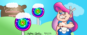 candy cocaine blast madness by Thegarfieldtouch
