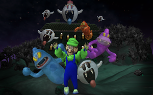 Spore's Luigi's Mansion by Hugo-H2P