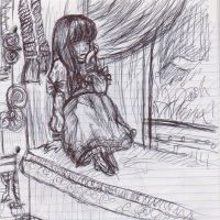 Very old sketch by LadyDeathCandy