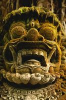 Stoned face Bali by RaynePhotography
