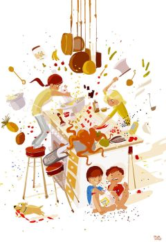 Top Chef Junior Monday Practice. by PascalCampion