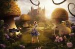 Alice In Wonderland by BenjaminHaley