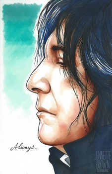 Snape by sugarpoultry