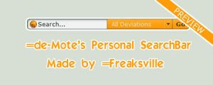 de-Motes search bar by Freaksville