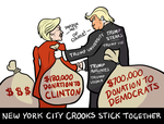 NYC Crooks Stick Together by SouthParkTaoist