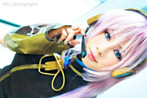 Vocaloid: Megurine Luka II by z3LLLL