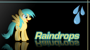 Raindrops Wallpaper by Traxel47