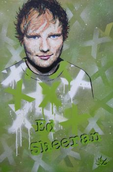 Ed Sheeran by thedecorator