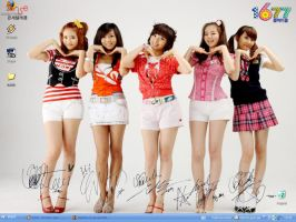 Wonder girls desktop by BaLiNa