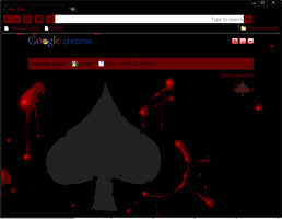 Midnight Spades Chrome Theme by elrunethe2nd