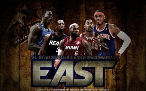 All-Star Starters Wallpaper:Eastern conference by JamesChen