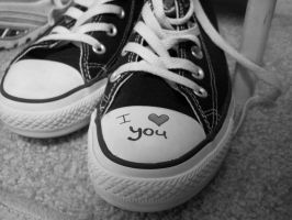 I love you Converse by Loser-Bunny
