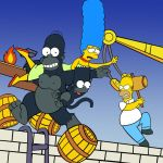 King Homer by mariobros123