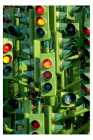 Traffic Light Chaos by Teakster