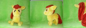 applebloom plush by StarSongPony