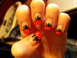 Strawberry Tips by TheWorldIsLove