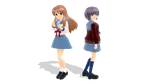 Mikuru Asahina and Yuki Nagato UPDATED by TheHetalianKazeko