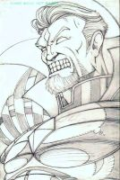 Mr. Sinister Pencils by CliffEngland