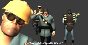 TF2 head poses by MichealJordy