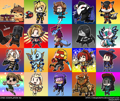 Chibi Compilation #2 by Dragonith