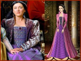 Katherine of Aragon from The Tudors by Nurycat