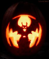 Gone Batty Jack-o-Lantern by Jenna-Rose