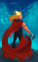 Thor the mighty, Thor the brave by murr000