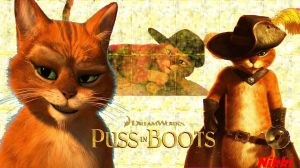 Puss In Boots Wallpaper by 1Nikki1