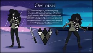 Commission: Obsidian by Shrineheart