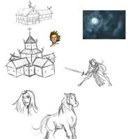 Sketchdump by lonelion4ever