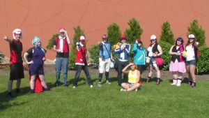 Pokemon Photoshoot- Protagonists by The-True-ZX
