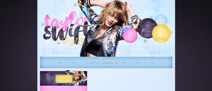 Premade for blog.cz (Taylor Swift) by dailysmiley