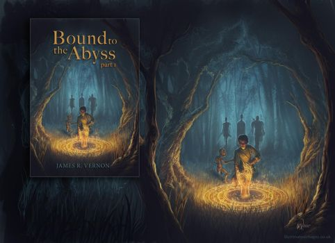 Bound to the Abyss - Commission for rvernon22 by me-illuminated