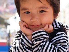 chinese girl by pickerel