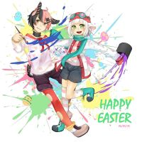 Easter Bunnies by KWVS