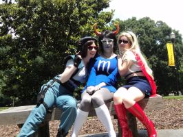 Jill Valentine and some new friends :) by bprinsurance