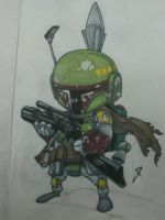 Boba Fett mini by yellow-five