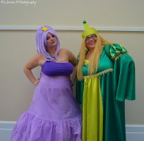 Cosplay - LSP and Turtle Princess by SammehChu