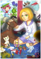 APH: Room with toys by momofukuu