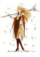 Fall or Elven Wizzard by Narayka