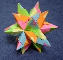 Spiky dodecahedron by wolbashi