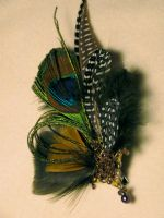 Feather Fascinator III by magickalmoon