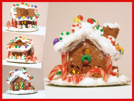 Little Gingerbread House by Blackash