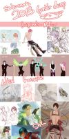2013 Artdump: SnK, SSY, Nier, NuError and more by sakonma
