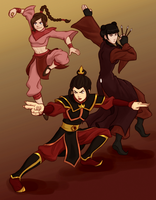 Azula's Gang by punker--rocker